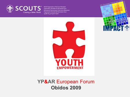 & YP&AR European Forum Obidos 2009. AFTER THE WORKSHOOP IT IS EXPECTED THAT THE PARTICIPANTS WILL BE ABLE TO: Identify the challenges that young people.