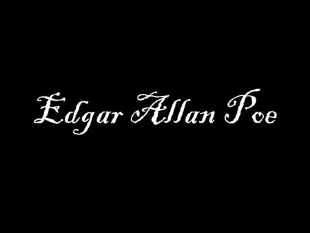"edgar allan poe research - analysis of edgar allan poe's the raven edgar allan poe's ""the raven,"" though parodied, republished, and altered countless times, has withstood the test of time as one of the most recognizable and famous works of poetry in the english language."