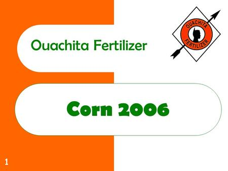 1 Corn 2006 Ouachita Fertilizer. 2 Ouachita Commitment to you Increase yields Lower costs Help solve those production problems that limit profitability.