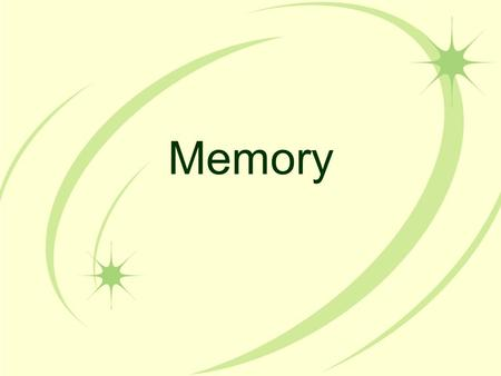 Memory. Memory Activities Concentration Tips to improve your memory.