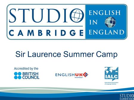 Sir Laurence Summer Camp