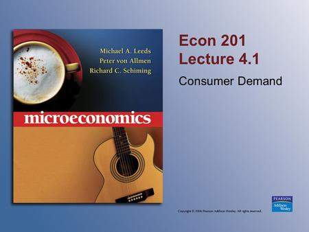 econ201 assignment