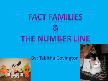 By: Tabitha Covington. How to use a number line 0123456701234567 A number line is used to show the distance from zero! A number line can help you to add.