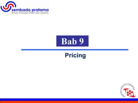 1 Bab 9 Pricing. 2 Hoetomo Lembito General Economic Considerations »Conditions Of Competition »Variable-Margin Pricing »Product Differentiation »Six Categories.