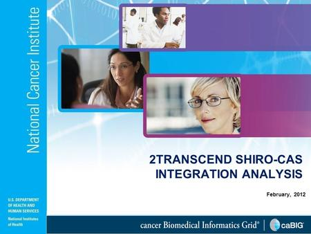 February, 2012 2TRANSCEND SHIRO-CAS INTEGRATION ANALYSIS.