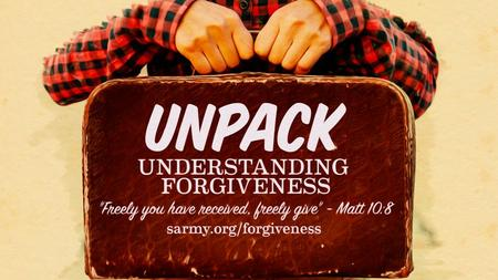 "'And forgive us our debts, as we also have forgiven our debtors...' ""For if you forgive others for their transgressions, your heavenly Father will also."