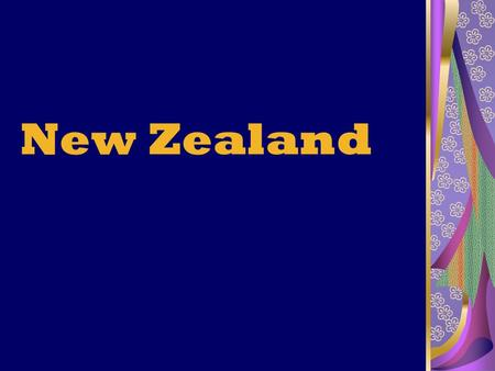 New Zealand. New Zealand is an island country in the south-western Pacific Ocean.