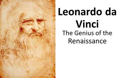 The Genius of the Renaissance