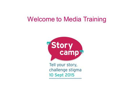 Welcome to Media Training