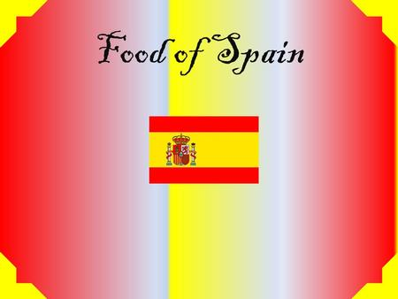 Food of Spain. La Paella La Paella is a traditional Spanish dish originating in the city of Valencia. This dish is said to be the perfect mixture of Spanish.