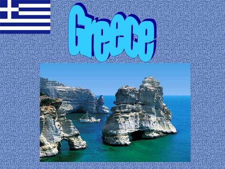 This is the national flag of Greece.The colours of the Greek flag are blue and white like some other countries in the World !!