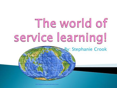 By: Stephanie Crook. In my own words, service learning is volunteering for a nonprofit organization, and learning to help others for nothing in return.