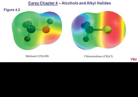 Carey Chapter 4 – Alcohols and Alkyl Halides Figure 4.2 YSU.