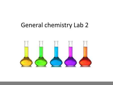 General chemistry Lab 2. Chemistry Analytical Chemistry Gravimetric Analysis Oxidation and Reduction Reactions Oxidation and Reduction Reactions Instrumental.