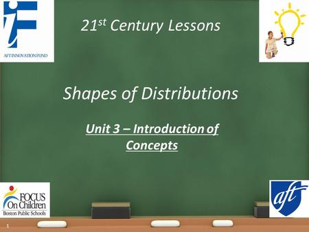 Unit 3 – Introduction of Concepts