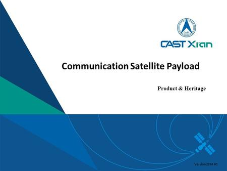 Communication Satellite Payload