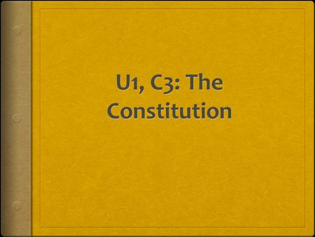 Outline of the Constitution ARTICLES OF THE CONSTITUTION SectionSubject PreambleStates the purpose of the Constitution Article ILegislative Branch Article.