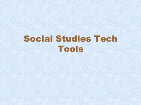 Social Studies Tech Tools. Library of Congress –  Google World Wonders - https://www.google.com/culturalinstitute/pr oject/world-wonders?hl=en.