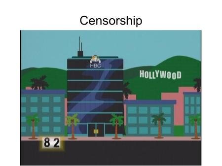 "Censorship. What is Censorship? The suppression of speech or communication that may be considered ""harmful""... Who determines what's ""harmful?"" Always."