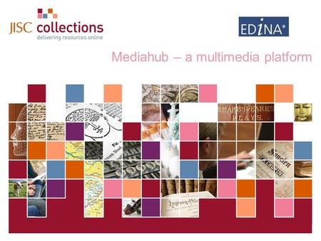 Digital Images for Education Mediahub – a multimedia platform.