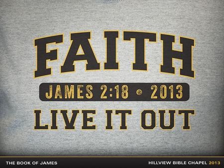 Faith…Live It Out In Facing Temptation