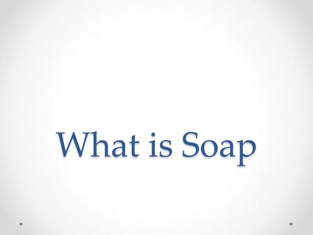 What is Soap. water oil soap molecule If oil is added to water, the two liquids do not mix. Because of this, grease stains can be difficult to remove.