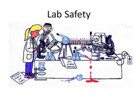 Lab Safety. Always Wear Safety Goggles in the Lab!!! Eyeglasses and sunglasses are not adequate substitutes.
