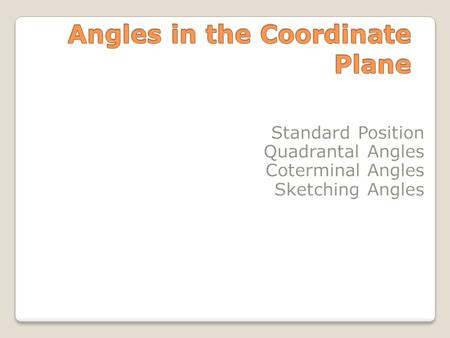 An acute angle is an angle measuring between 0 and 90 degrees.