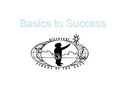 Basics to Success Everyone has a voice and can use it to make change. Basic Number One.