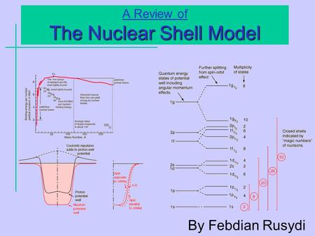 The Nuclear Shell Model A Review of The Nuclear Shell Model By Febdian Rusydi.