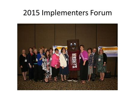 2015 Implementers Forum. Learning Express Preschool.