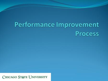Introduction and Welcome Why are we here? In the performance improvement process, HR involvement is always necessary. Our goal is to better equip you.
