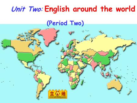 Unit Two: English around the world (Period Two). I Match the new words and expressions with their meanings ( ) 1. actually A. for example ( ) 2. elevator.