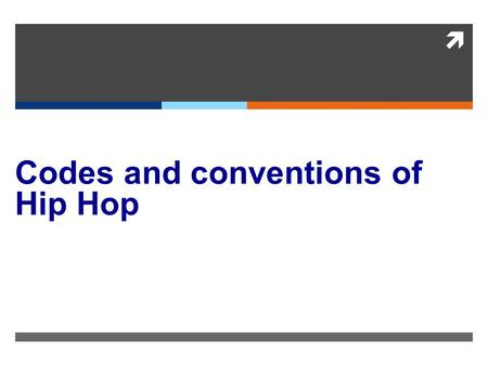  Codes and conventions of Hip Hop. Summary  This is hip hop stereotype magazine which presents the typical African American man however they play with.