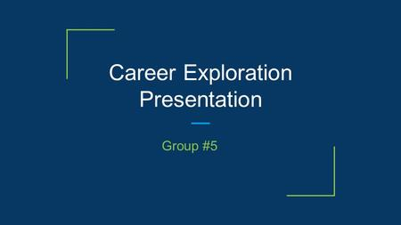 Career Exploration Presentation Group #5. Guess the Mystery Career Field ! Sales Account Executive Graphic Designer Marketing Digital Producer Freelance.