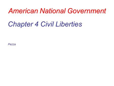 limiting of civil liberties essay