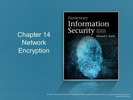 Chapter 14 Network Encryption. Communications Security Physical protection works for local networks –Impractical for long-distance communications Types.