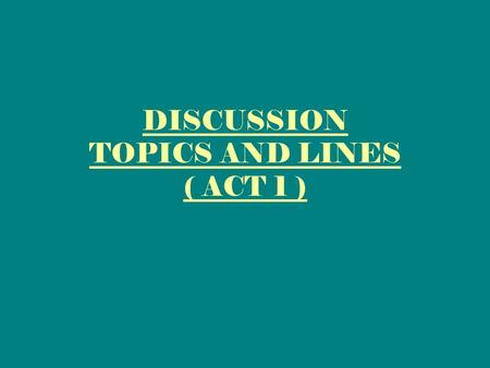 DISCUSSION TOPICS AND LINES ( ACT 1 ). What was the weather like when Macbeth met three witches ?