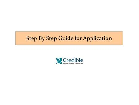"Step By Step Guide for Application. 1. Click the ""Register"" button ① Ⅰ. Registration."