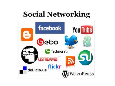 Social Networking. Freewrite #1 What is Social Networking?