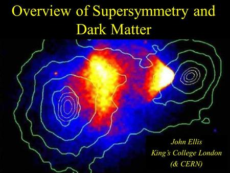 Overview of Supersymmetry and Dark Matter