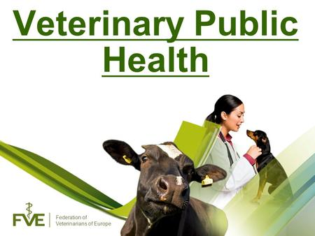 Federation of Veterinarians of Europe Veterinary Public Health.