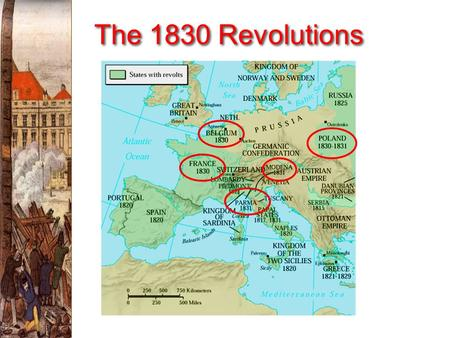 "The 1830 Revolutions France: The ""Restoration"" Era (1815-1830)  France emerged from the chaos of its revolutionary period as the most liberal large."