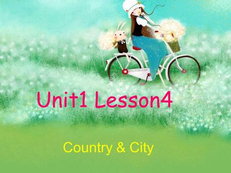 Unit1 Lesson4 Country & City. Key Words office farm underground walk crowded space quiet noisy officefarm underground walk crowded space quiet noisy.
