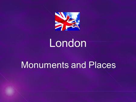 London Monuments and Places.