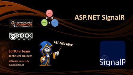 ASP.NET SignalR SoftUni Team Technical Trainers Software University
