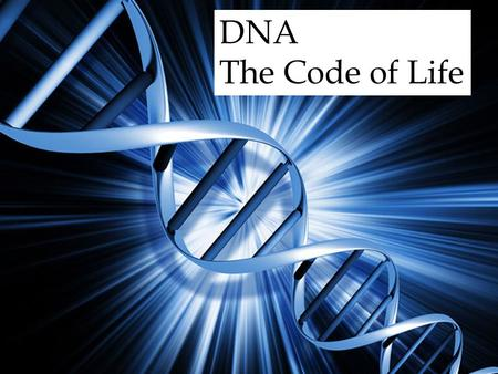 DNA The Code of Life. Fredrich Mischer In 1868, a Swiss physician found a new substance inside of cells and named it nuclein. This substance is now known.