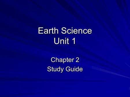 Earth Science Unit 1 Chapter 2 Study Guide. Vocabulary StreakDuctilityFractureFractureLusterCleavageFluorescence.