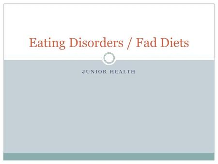 an analysis of the devastating and harmful behavioral patterns of eating disorders Chapter 4: behavior, motivation and self-control o eating disorders o gambling wouldn't it be wonderful if you could control your behavior you'd avoid over-eating, alcoholism, all bad habits, procrastination, being.