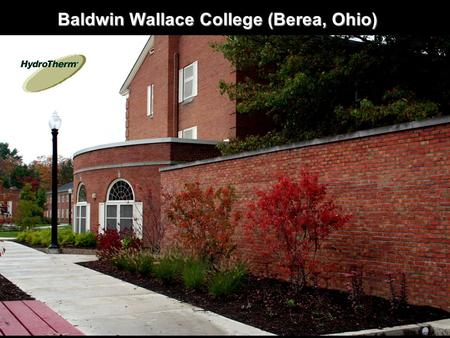 Baldwin Wallace College (Berea, Ohio). Two KN20 boilers installed to replace old atmospheric cast iron boilers. KN boilers are true cast iron sectional.
